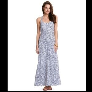 Vineyard Vines Silk Halter Maxi Dress (NWOT)